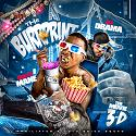 Gucci Mane - The Burrprint (The Movie 3-D) mixtape cover art