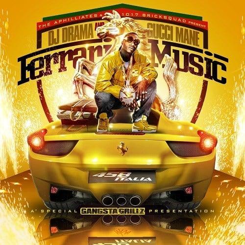 DJ Drama & Gucci Mane – Ferrari Music (Mixtape)