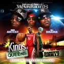 Ron Artest - Kings Of Queens (Gangsta Grillz) mixtape cover art