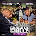 Tony Austin - The Influence (Gangsta Grillz) mixtape cover art