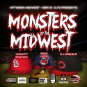 Monsters Of The Midwest mixtape cover art