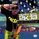 Drumma Boy's 2K13 4th Of July Playlist mixtape cover art