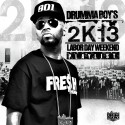 Drumma Boy's 2K13 Labor Day Weekend Playlist mixtape cover art