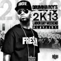 Drumma Boy's 2K13 Labor Day Weekend Playlist mixtape cover art