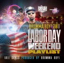 Drumma Boy's 2011 Labor Day Weekend Playlist mixtape cover art