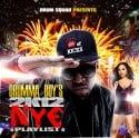 NYE Playlist 2K12 mixtape cover art