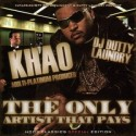 Khao - The Only Artist That Pays mixtape cover art