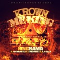 King Bama - Krown Me King mixtape cover art