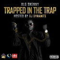 XLG Skenny - Trapped In The Trap mixtape cover art