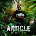 Man Dot - The Article mixtape cover art