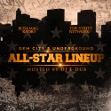 Gem City's Underground #AllStarLineUp mixtape cover art