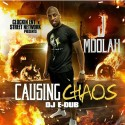Jmoolah  - Causing Chaos mixtape cover art