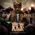 Leon DoinNumberz - Young, Fly & Flashy mixtape cover art