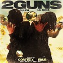 Lil Nuka & Dulevi - 2 Guns mixtape cover art
