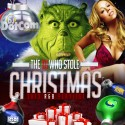 The DJ Who Stole Christmas mixtape cover art
