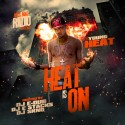 Young Heat - The Heat Is On mixtape cover art