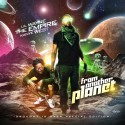 Lil Wayne & Kanye West - From Another Planet mixtape cover art