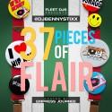 Benny Stixx - 37 Pieces Of Flair mixtape cover art