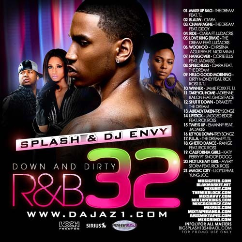 Down & Dirty R&B 32 Mixtape