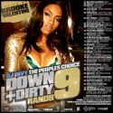 Down & Dirty R&B Pt.9 (Hosted By Brooke Valentine) mixtape cover art