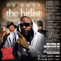 The Hitlist 25 (South Edition) mixtape cover art