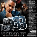 The Hit List 33 mixtape cover art
