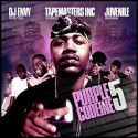 Purple Codeine 5 (Hosted By Juvenile) mixtape cover art