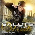 Lil Tez - Salute The Streetz mixtape cover art