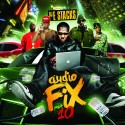 Audio Fix 10 mixtape cover art
