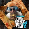 Streetz Service Pack 4 mixtape cover art