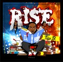 Tigo B - Rise: A Gemini Story  mixtape cover art