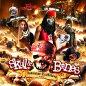 Lil Wayne, Jim Jones & Juelz Santana - Skull & Bones mixtape cover art