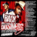 Back 2 Business 3 mixtape cover art