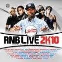 R&B Live 2K10 mixtape cover art