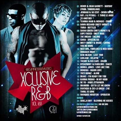 DJ Finesse - Xclusive R&B 18.8 Mixtape