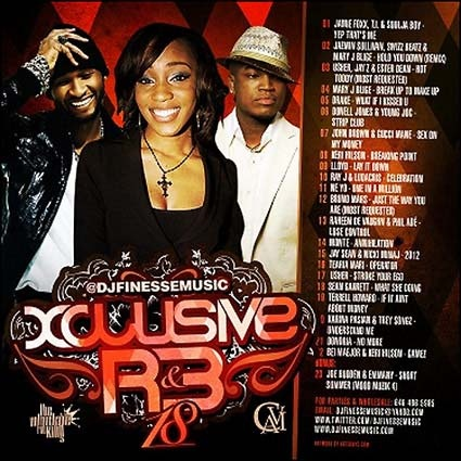 DJ Finesse - Xclusive R&B 18 Mixtape