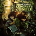 Cruddy Cal & Ark Gwalla - Concrete Jungle mixtape cover art