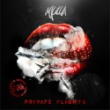 M Killa - Private Flights mixtape cover art