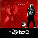 Lil Boosie - The 25th Hour mixtape cover art