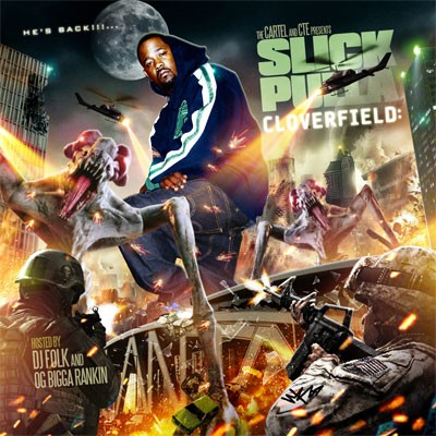 DJ Folk, Bigga Rankin & Slick Pulla – Cloverfield (Mixtape)