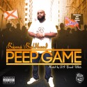 Bama Baldhead - Peep Game mixtape cover art