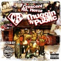 Crescent Road Heroes - Thuggin In Public mixtape cover art