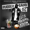 Rubberband OG - 80's Crack mixtape cover art