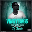 Vinny Bags - The God Is Back mixtape cover art