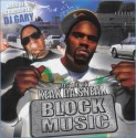 Keak Da Sneak - Block Music mixtape cover art