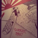 Chris Williams - The Kamikaze Diary mixtape cover art