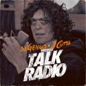 J Cutta - Talk Radio mixtape cover art