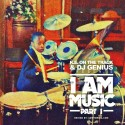 KE On The Track - I Am Music mixtape cover art