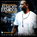 King Supreme - Almost Famous mixtape cover art