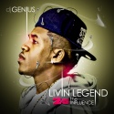 Livin' Legend 2.5 (The Influence) mixtape cover art